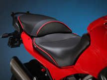World Sport Modular Seat System on the Ducati Multistrada.