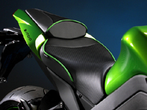 World Sport Performance Seat for the Kawasaki Z1000.