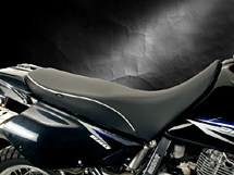 World Sport Performance Seat on the DR 650 - Regular Height.