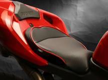 World Sport Performance Seat on the Ducati 1098.