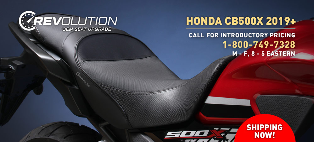 REVolution for Honda CB500X!