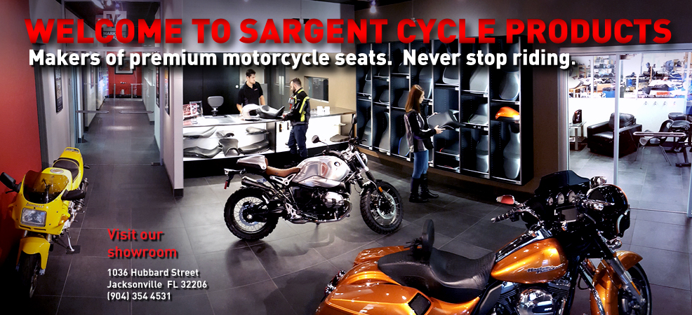 Motorcycle Seats - Sargent Seats - Aftermarket Motorcycle Seats